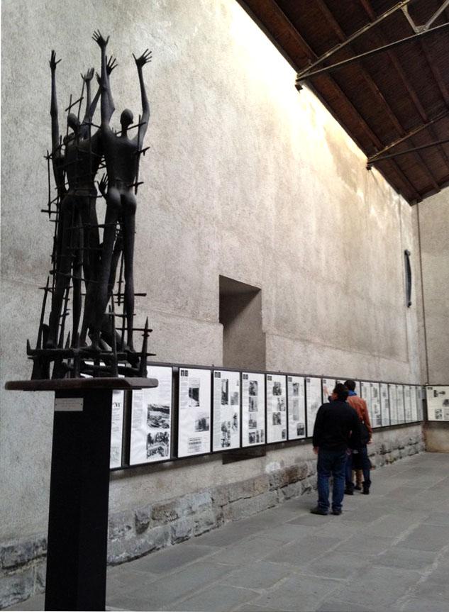 Sala delle commemorazioni - Monumento